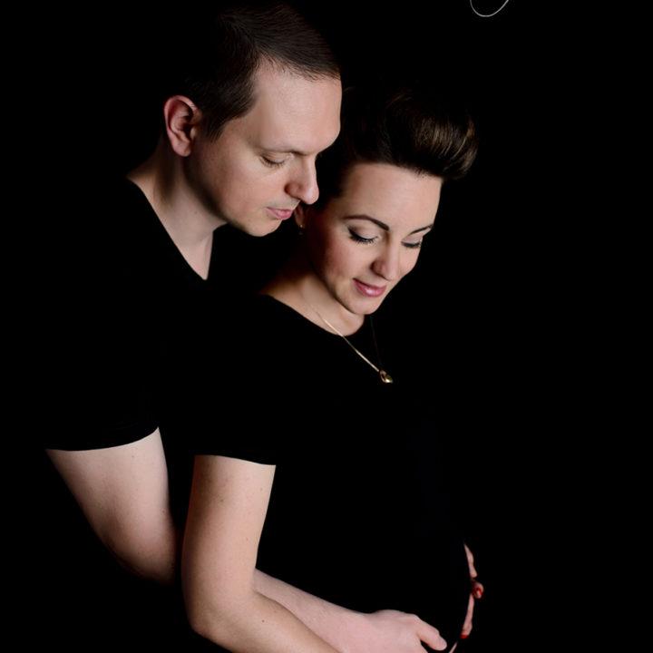 Oczekując na córeczkę - sesja ciążowa