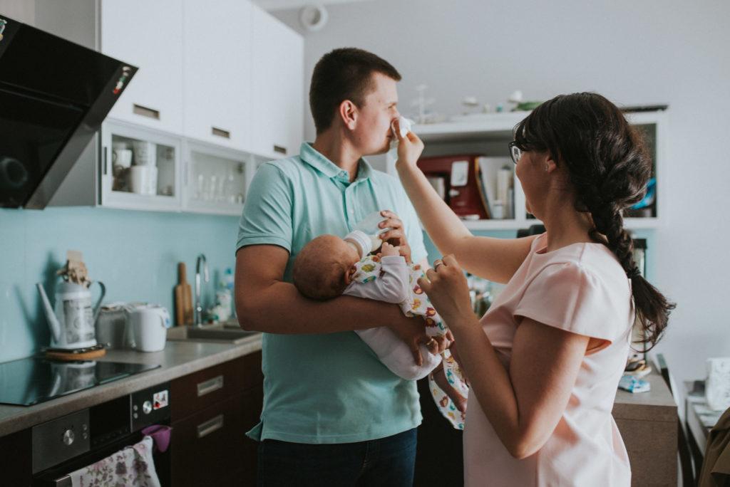 Sesja noworodkowa lifestyle - OnceUpon.pl - fotografia ciążowa, noworodkowa i rodzinna-6